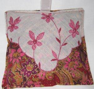 Vintage Hanky/Fabric Sachet