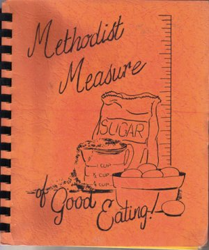 Methodist Measure Cookbook, 1972-73, CB13