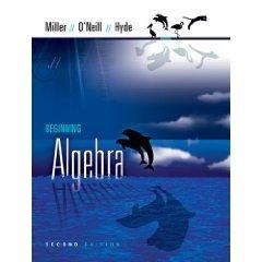 Beginning Algebra (Hardcover) ISBN: 0073312673