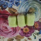 Asian Pear & Lily with Shea Butter Bath Bomb Cubes || Organic || All Natural || Handmade