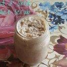 4oz Oat & Shea Butter Face Scrub || Exfoliating Body Scrub || All Natural || Handmade