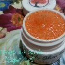 Orange flavored lip scrub ALL NATURAL sugar lips ||  All Natural || Handmade