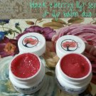 Black Cherry Lip Scrub & Lip Balm Duo ALL NATURAL Sugar Lips ||  All Natural || Handmade