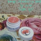 Orange Strawberry Banana flavored Sugar Lips lip Scrub ||  All Natural || Handmade