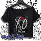 the weeknd shirt xo crop top the madness tour t-shirt OVOXO Official Issue tee 2