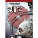 Saw IV (DVD, 2008, Widescreen - Unrated Director's Cut) SCOTT PATTERSON (NEW)