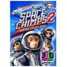 Space Chimps 2: Zartog Strikes Back (DVD, 2010, 3D) BRAND NEW