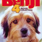 Benji: 4 Movie Collection (DVD, 2013, 2-Disc Set) BRAND NEW PLEASE READ BELOW