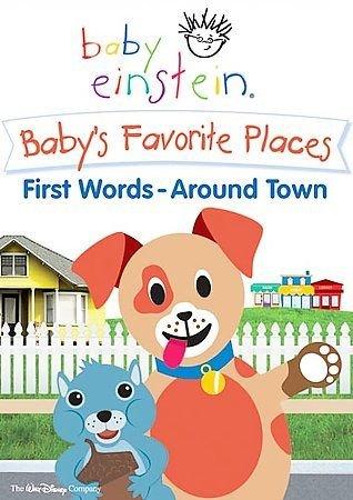DISNEY Baby Einstein  Baby's Favorite Places First Words Around Town (DVD, 2006)