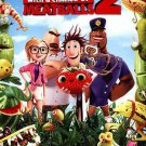 Cloudy With a Chance of Meatballs 2 (DVD, 2014, Includes Digital Copy;... NEW