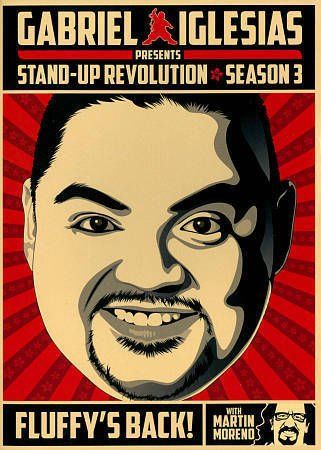Gabriel Iglesias Presents: Stand-Up Revolution - Season Three (DVD, 2014) NEW