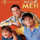 Two and A Half Men - The Complete Fifth/5TH Season (DVD, 2009 3-Disc Set) W/SLIP