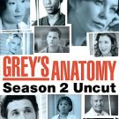 Grey's Anatomy - SECOND SEASON: Uncut (DVD, 2006, 6-Disc Set)