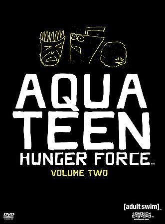 Aqua Teen Hunger Force - Volume 2 (DVD, 2004,2-Disc Set,Collector's Edition) NEW