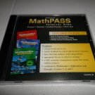 GLENCOE MATHPASS TEST PREP TUTORIAL PLUS CD-ROM COURSES 1-3 BRAND NEW