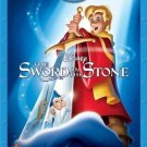 DISNEY The Sword in the Stone (Blu-ray Disc,2013,2-Disc Set,50th Anniversary...
