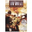 WWII: Greatest Battles (DVD, 2010, 2-Disc Set) BRAND NEW