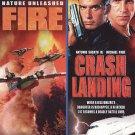 Nature Unleashed: Fire/Crash Landing (DVD, 2009) BRAND NEW