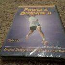 MARK ELDRIDGE POWER & DISTANCE II SOFTBALL DVD (BRAND NEW)