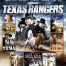 TEXAS RANGERS,BROKEN FENCES,YUMA,DEAD MAN,HOODED ANGELS (DVD, 2012, 2-Disc Set)