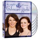 Gilmore Girls: The Complete Sixth/6TH Season (DVD, 2013, 6-Disc Set)