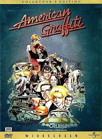 American Graffiti (DVD, 1998, Collector's Edition) RICHARD DREYFUSS,RON HOWARD
