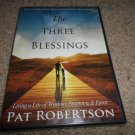 PAT ROBERTSON THE THREE BLESSINGS DVD BRAND NEW