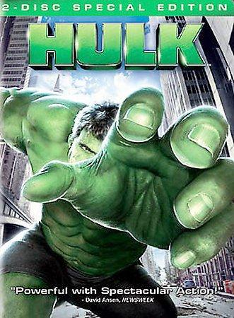The Hulk (DVD, 2003, 2-Disc Set, Full Frame) ERIC BANA,JENNIFER CONNELLY