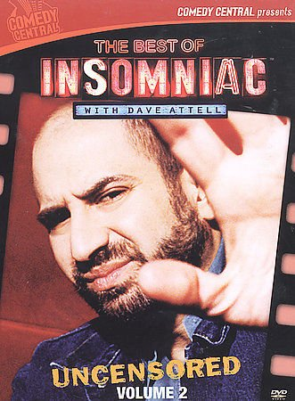 The Best of Insomniac with Dave Attell: Uncensored Volume 2 (DVD, 2003, 2-Disc.