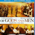 Of Gods and Men (Blu-ray/DVD, 2011, 2-Disc Set) PHILIPPE LAUDENBACH