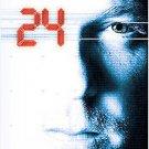24 - Season 1 / ONE COMPLETE  SEASON (DVD, 2009, 6-Disc Set) KIEFER SUTHERLAND