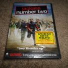 Jackass: Number Two (DVD, 2006, Rated Widescreen Version/ Checkpioint) NEW