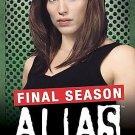 Alias - The Complete Fifth Season (DVD, 2006, 4-Disc Set) NO SLIP COVER