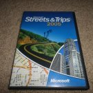 Microsoft Streets & Trips 2005 GPS Navigation 2-DISC CD-ROM W/BOOKLET
