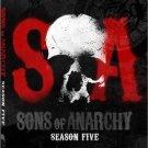 Sons of Anarchy: Season 5/FIVE  (Blu-ray Disc, 2013, 3-Disc Set)