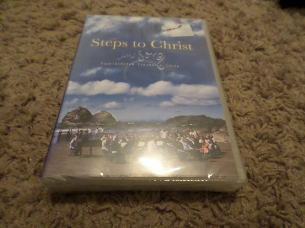FOUNTAINVIEW STRINGS & CHOIR STEPS TO CHRIST IN SONG DVD 3-DVD (NEW)