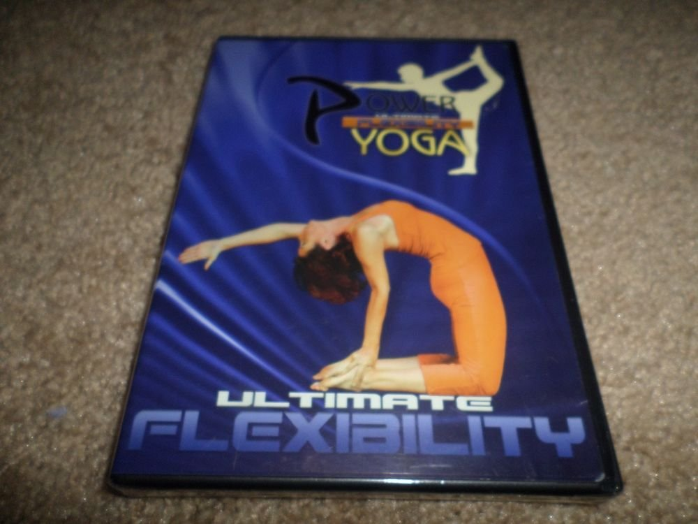 POWER ULTIMATE FLEXIBILITY YOGA DVD (BRAND NEW)