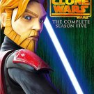 Star Wars: The Clone Wars - The Complete Season Five /5 (DVD, 2013, 4-Disc Set)