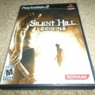 Silent Hill ORGINS PS2  (Sony PlayStation 2, 2001) COMPLETE