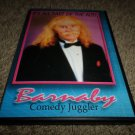 BARNABY COMEDY JUGGLER IT'S ALL PART OF THE ACT DVD