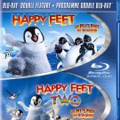 Happy Feet/Happy Feet 2 (Blu-ray Disc, 2013, 2-Disc Set)