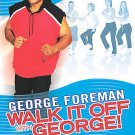 George Foreman - Walk It Off With George: Walk and Box (DVD, 2004) BRAND NEW