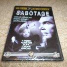 ALFRED HITCHCOCK SABOTAGE DVD (BRAND NEW)