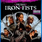 The Man With the Iron Fists (Blu-ray/DVD, 2013, 2-Disc Set Unrated) W/SLIP