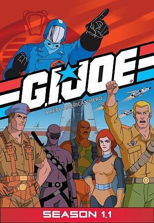 G.I. Joe A Real American Hero - SEASON 1.1 (DVD, 2009, 4-Disc Set)