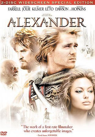 Alexander DVD, 2005, 2-Disc Set, Theatrical Version COLIN FARRELL,ANGELINA JOLIE
