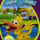 WordWorld: Lucky Duck (DVD, 2013, With Puzzle)