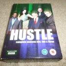 HUSTLE COMPLETE SEASON ONE,TWO & THREE DVD BOX SET REGION 2/PAL VERSION