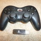LOGITECH PLAYSTATION 3/PS3 WIRELESS CONTROLLER W/RECEIVER 840-000008