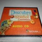 "DESCUBRE EL ESPANOL CON SANTILLANA ""C"" AUDIO CD SANTILLANA USA BRAND NEW"